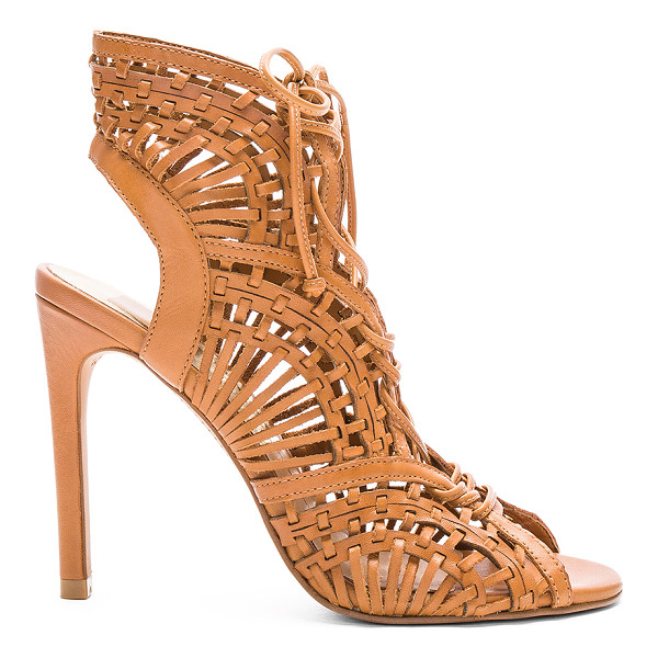 DOLCE VITA Harper Heel - Leather upper with man made sole. Lace-up front with tie...