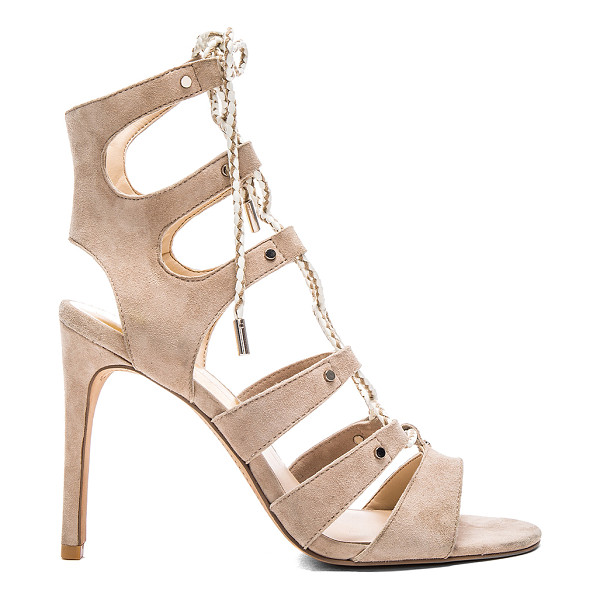 DOLCE VITA Howie heel - Suede upper with man made sole. Braided lace-up front with...