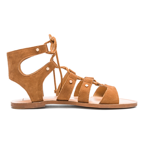 DOLCE VITA Jasmyn Sandal - Suede upper with man made sole. Caged cut-out detail....