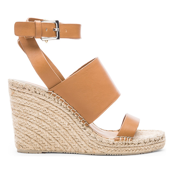 "DOLCE VITA Nessah wedge - Leather upper with rubber sole. Wedge measures approx 4""""..."
