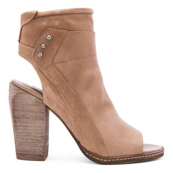 DOLCE VITA Niki Heel - Leather upper with man made sole. Side zip closure. Side...
