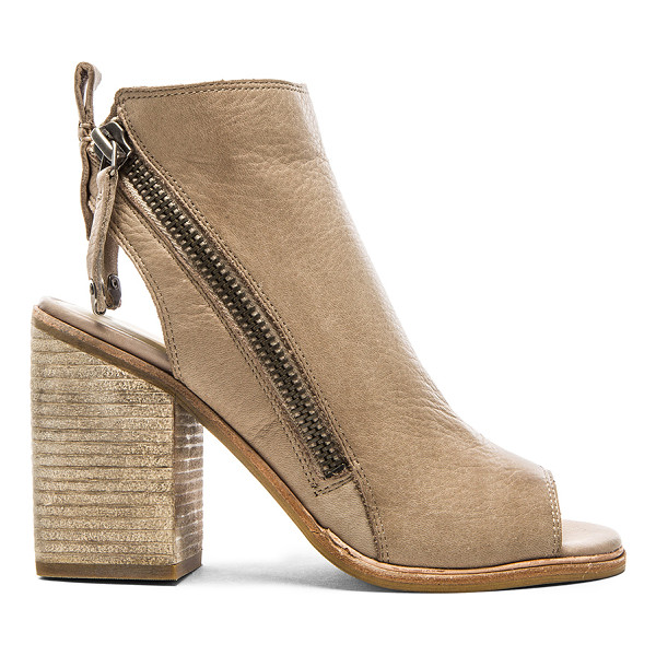 """DOLCE VITA Port bootie - Leather upper with man made sole. Heel measures approx 4""""""""..."""