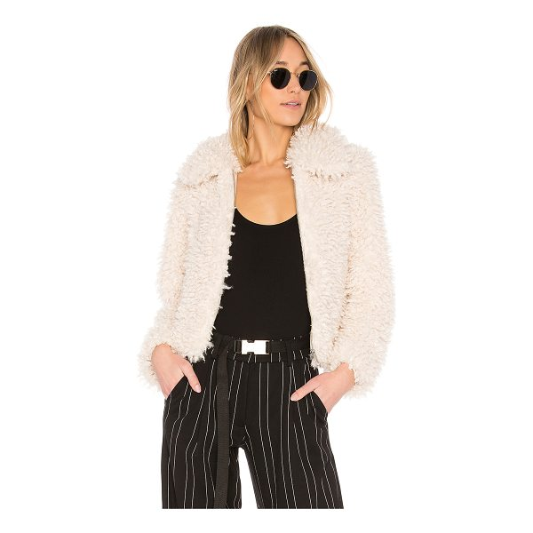 EAVES Brooklyn Coat - The classic bomber jacket receives a cozy update with...