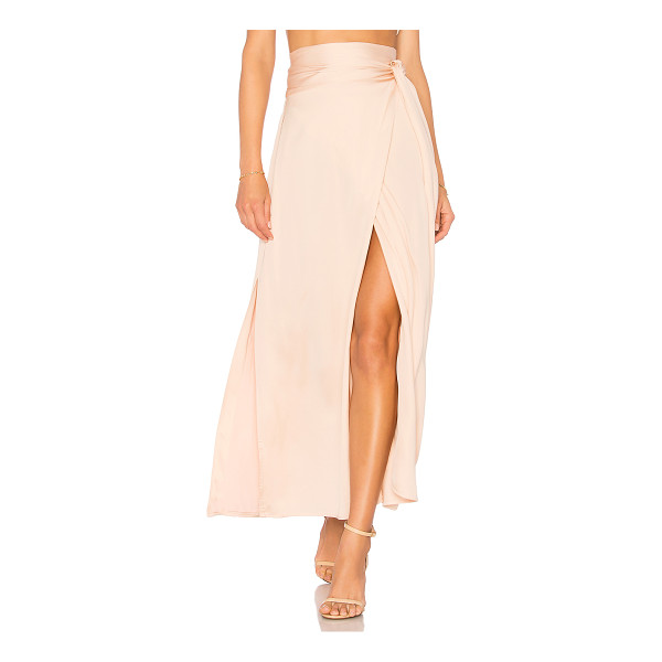 ELIZABETH AND JAMES Almeria Wrap Skirt - Self: 100% viscoseLining: 100% poly. Dry clean only. Fully...