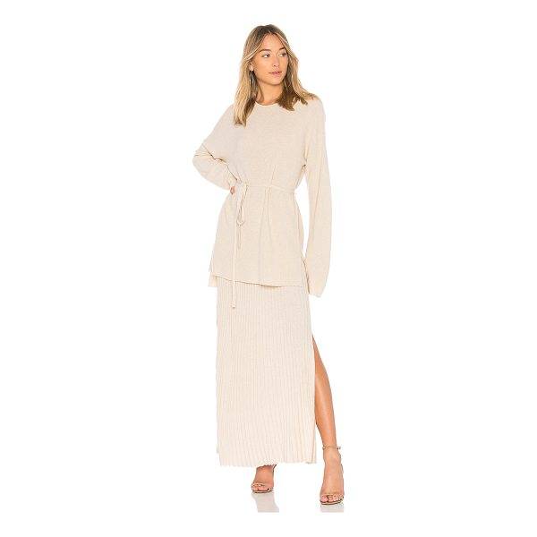 ELIZABETH AND JAMES Gisella Rib Sweater - 45% wool 30% viscose 15% polyamide 10% cashmere. Dry clean...