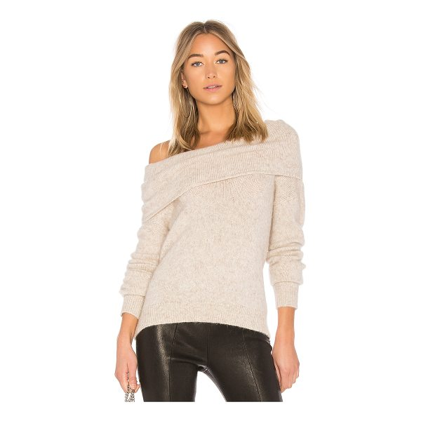 ELIZABETH AND JAMES Gracelyn Sweater - 51% alpaca 42% nylon 7% wool. Dry clean only. Draped...