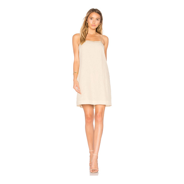ELIZABETH AND JAMES Mariella A Line Dress - Self: 57% silk 43% cottonContrast: 100% silkLining: 100%...