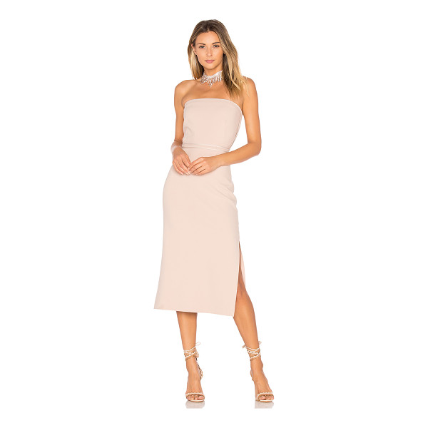 """ELIZABETH AND JAMES Sierra Strapless Dress - """"Cotton blend. Dry clean only. Unlined. Plastic bodice..."""
