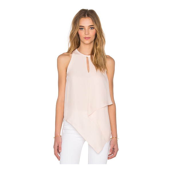 ELIZABETH AND JAMES Tabby tank - 100% silk. Dry clean only. Neckline keyhole. Back keyhole...