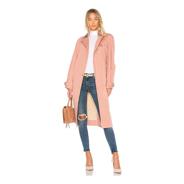 ELIZABETH AND JAMES Weston Coat - Self: 65% cotton 35% nylonContrast: 100% poly. Dry clean...