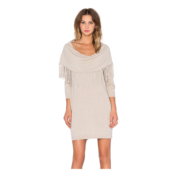 ELLA MOSS Alice sweater dress - 35% viscose 3.% wool 30% nylon 5% cashmere. Dry clean only....