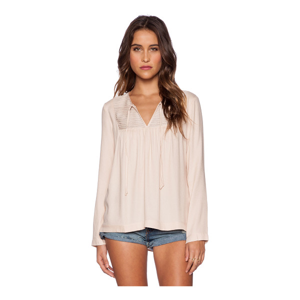 ELLA MOSS Stella top - Shell: 100% rayonContrast: 100% silk. Dry clean only....