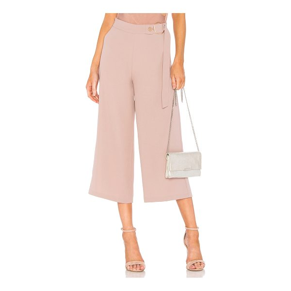 """ELLIATT Ivana Pant - """"Poly blend. Hand wash cold. Waist strap detail with ring..."""