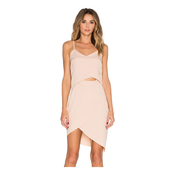 ELLIATT x REVOLVE The Shot Tulip Dress - 95% poly 5% spandex. Dry clean only. Unlined. Hidden back...
