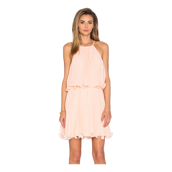 ENDLESS ROSE Ariana Dress - Poly blend. Fully lined. Back tie closure. ENDR-WD39....