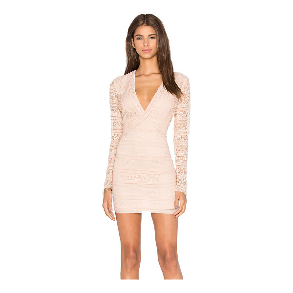 ENDLESS ROSE Miamell Woven Dress - Nylon blend. Hand wash cold. Fully lined. Lace fabric....