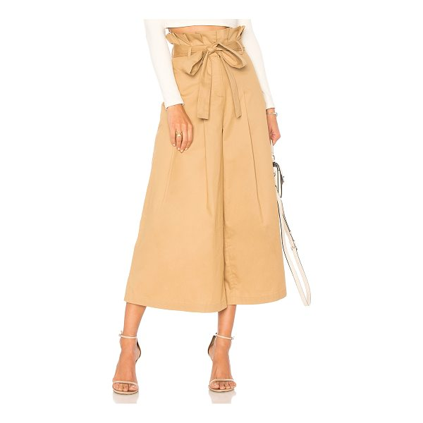 """ENDLESS ROSE Paper Bag Pants - """"Self: 100% cottonLining: 70% poly 30% cotton. Hand wash..."""