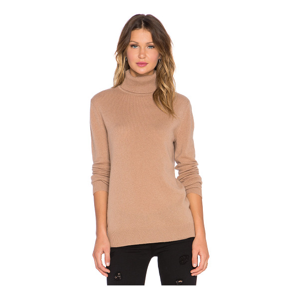 EQUIPMENT Oscar Turtleneck Cashmere Sweater - 100% cashmere. Dry clean only. Ribbed trim. EQUI-WK143. U10...