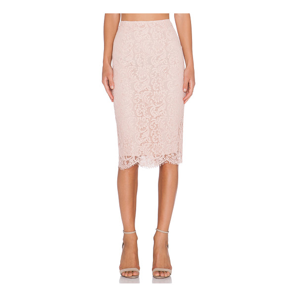 """ESSENTIEL Kubus skirt - Nylon blend. Hand wash cold. Skirt measures approx 28"""""""" in..."""