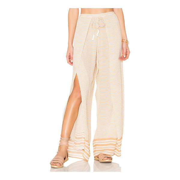 FAITHFULL THE BRAND Montero Pants - 100% rayon. Hand wash cold. Elasticized back waist. Front...