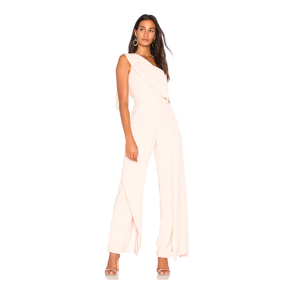 "FAME AND PARTNERS Solange Jumpsuit - ""Self: 100% tencelLining: 97% poly 3% spandex. Dry clean..."