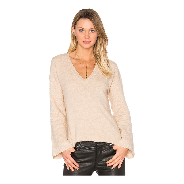 FEEL THE PIECE Wesley Sweater - 62% nylon 26% wool 8% alpaca 4% spandex. Dry clean only....