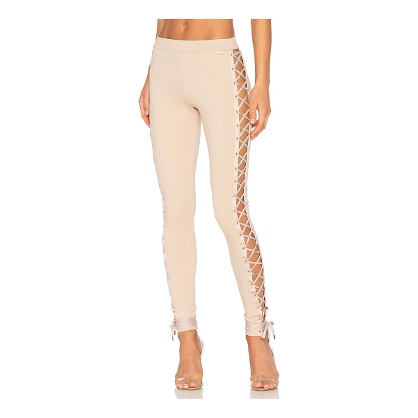 FENTY PUMA BY RIHANNA Lacing Legging - 62% viscose 33% nylon 5% elastane. Elastic stretch fit....