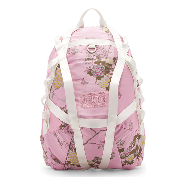 FENTY PUMA BY RIHANNA Parachute Backpack - Printed poly exterior with nylon fabric lining. Zip around...