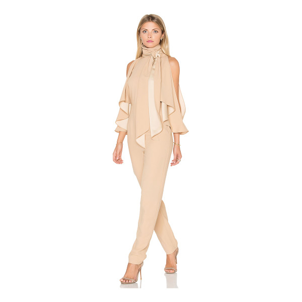 FINDERS KEEPERS Real Slow Jumpsuit - 100% poly. Hand wash cold. Open shoulders. Back cut-out...