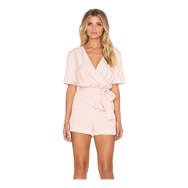 FINDERS KEEPERS The rewind playsuit - 100% tencel. Back button closure. Elasticized waist....