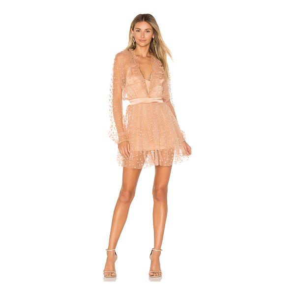 FOR LOVE & LEMONS All That Glitters Mini Dress - Making your way through your wardrobe, only stopping for...