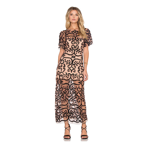 FOR LOVE & LEMONS Antonina dress - Self: 100% nylonLining: 82% nylon 18% spandex. Hand wash...