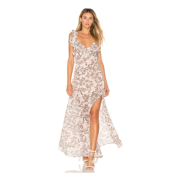 FOR LOVE & LEMONS Bee Balm Floral Maxi Dress - As sweet as honey and as delicate as a flower. With a...