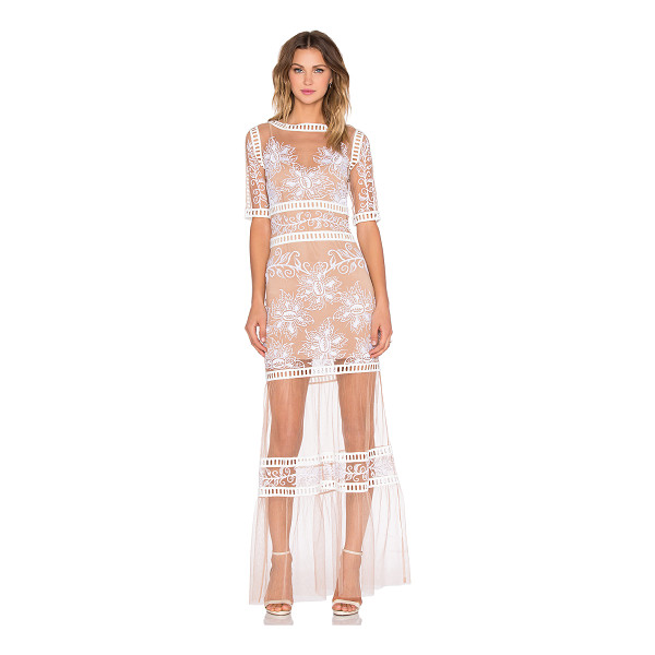 FOR LOVE & LEMONS Desert nights maxi dress - Self: 100% polyLining: 90% poly 10% spandex. Dry clean...