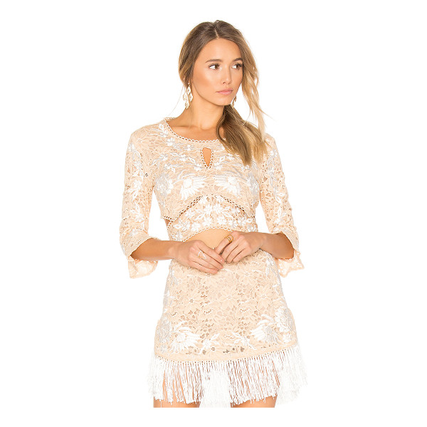 FOR LOVE & LEMONS Matador Crop Top - Breathing new life into classic lace. Cut from the most...