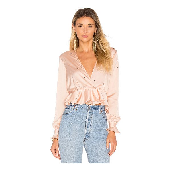 FOR LOVE & LEMONS Twinkle Long Sleeve Blouse - Turn up the girlish details with the Twinkle Blouse from...