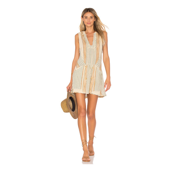 FREE PEOPLE All Right Now Mini - Everything will be alright when you slip into this woven...