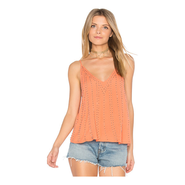 FREE PEOPLE BB Embellished Cami - It was meant to be. You'll find your shining soul mate in...