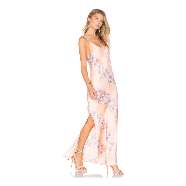 FREE PEOPLE Cassie Girl Slip Dress - Soft florals swirl across the Free People Cassie Girl Slip