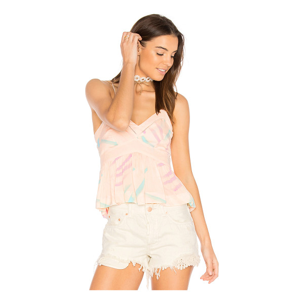 FREE PEOPLE Endless Fun Tank Top - Your style knows no bounds. Striped with pretty pastel...