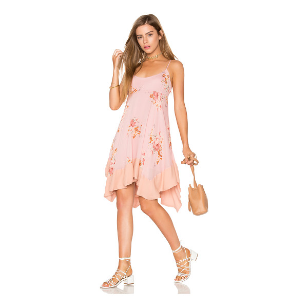 FREE PEOPLE Faded Bloom Mini Dress - Self: 100% viscoseLining: 100% rayon. Hand wash cold. Fully...