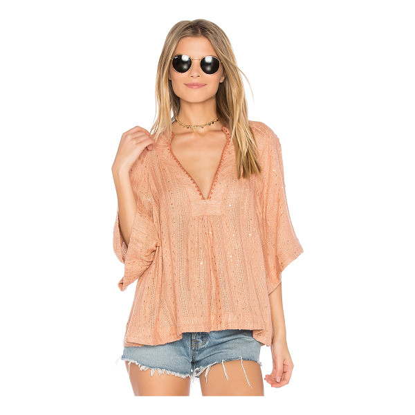 FREE PEOPLE Get Over It Striped Pullover - Take a deep breath and savor the irresistably bohemian feel...