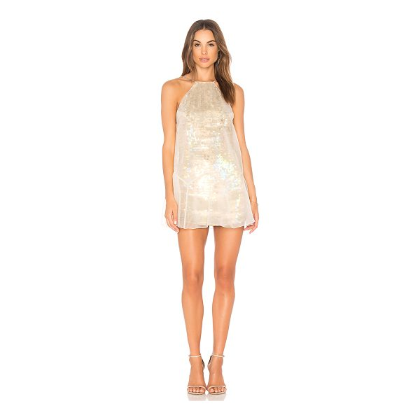 FREE PEOPLE Ghost Mini Dress - Self: 100% nylonLining: 100% rayon. Dry clean only. Fully...
