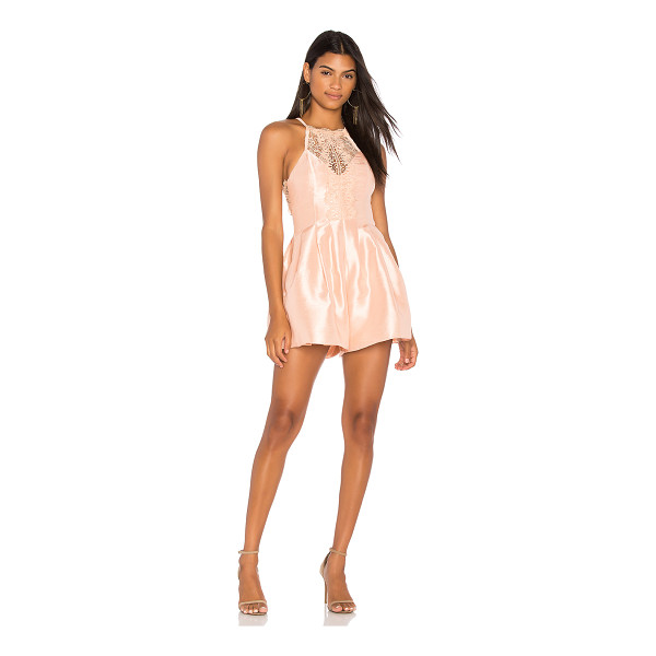 FREE PEOPLE Heart to Heart Romper - Self: 100% polyLining: 97% poly 3% spandex. Dry clean only....