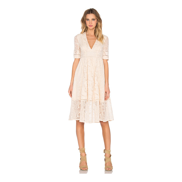 FREE PEOPLE Laurel lace dress - Self: 75% cotton 25% nylonLining: 100% rayon. Hand wash...