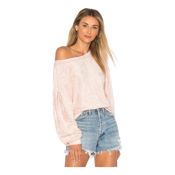 FREE PEOPLE Milan Layering Pullover Sweater - 81% poly 39% rayon. Banded edges. Stretch fit. FREE-WK449....