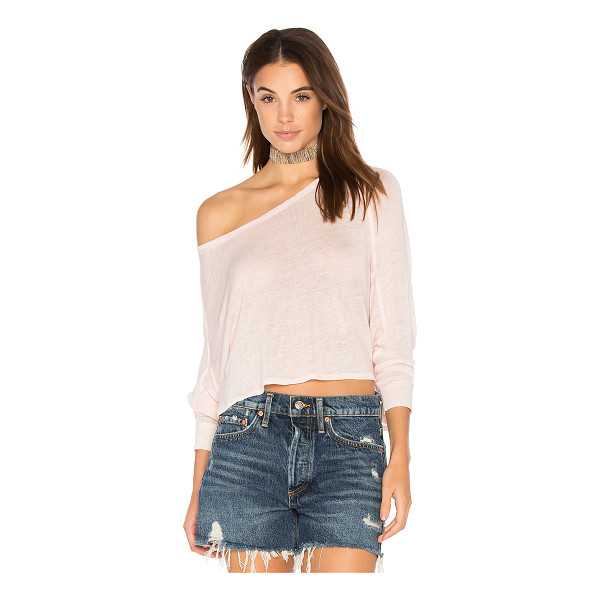 FREE PEOPLE Nashville Tee - Sweet and simple, Free People's Nashville Top begs to be...