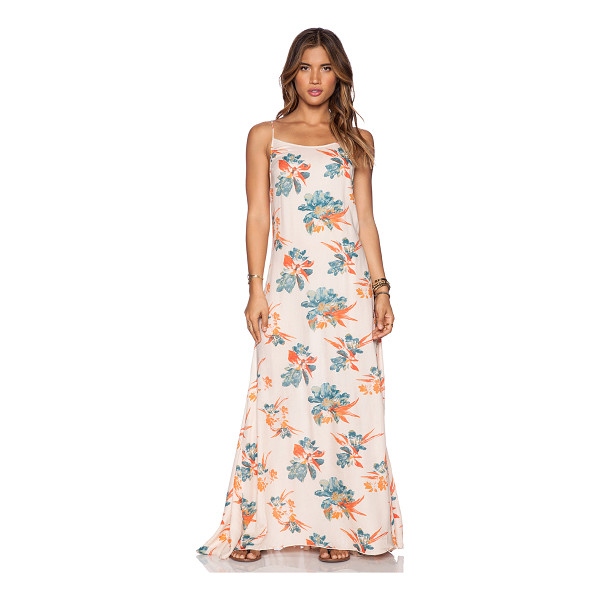 """FREE PEOPLE Star chasing slip - 100% rayon. Shoulder strap to hem measures approx 58"""""""" in..."""