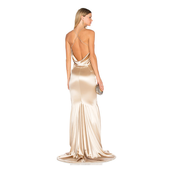 GEMELI POWER Barthelemy Gown - 90% poly 5% elastane 5% spandex. Dry clean recommended....