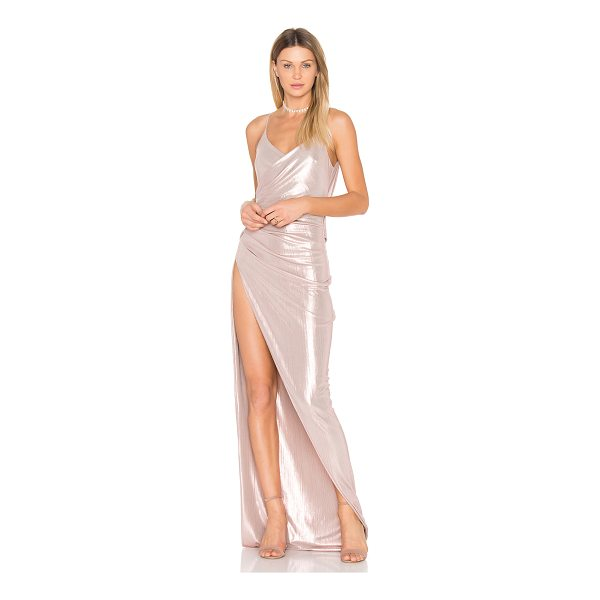 GEMELI POWER Kotahi II Gown - Shell: 60% metallic 40% polyLining: 95% poly 5% spandex....